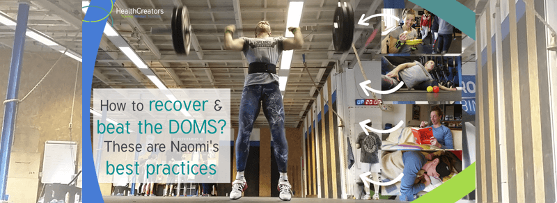 How to beat the DOMS? These are Naomi's best practices