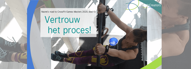 Naomi's Road to CrossFit Games Masters 2020: Vertrouw het proces