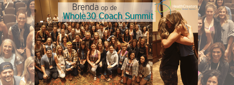 Brenda op de Whole30 Coach Summit