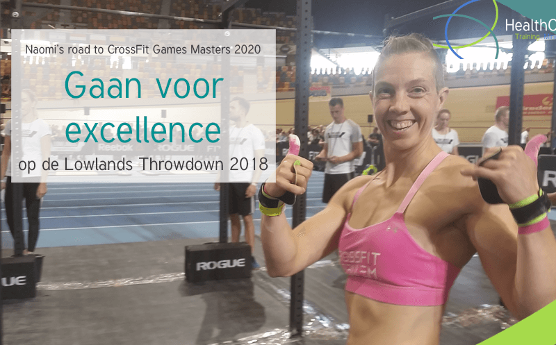 Naomi's road to CrossFit Games Masters 2020: Gaan voor excellence