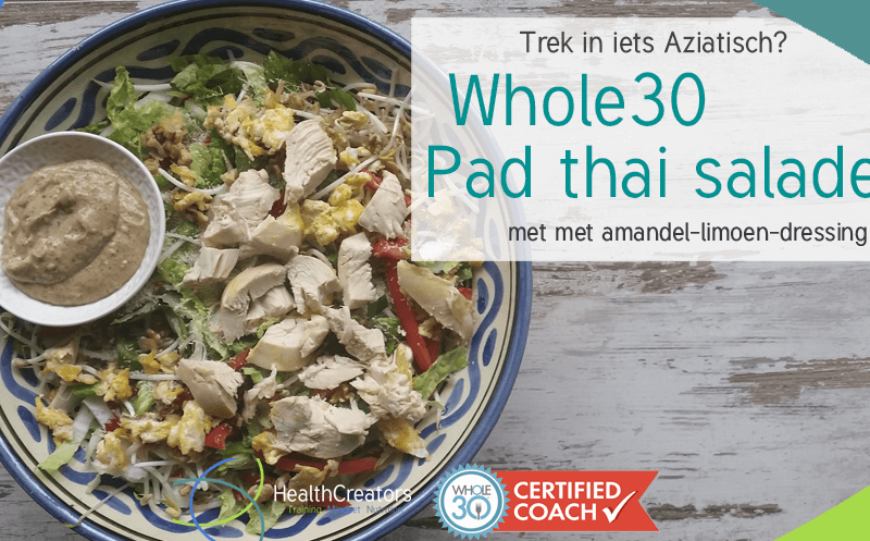 Whole30 Pad Thai Salade