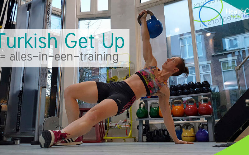 Turkish get up = alles-in-een-training