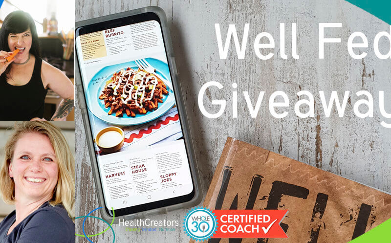 Well Fed giveaway: win alle 3 de kookboeken met Whole30 recepten!
